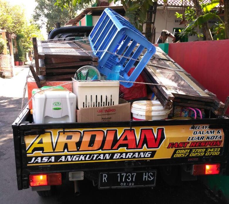 Jasa Transportasi Angkutan Barang